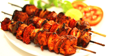 Chicken Tikka Kebabs