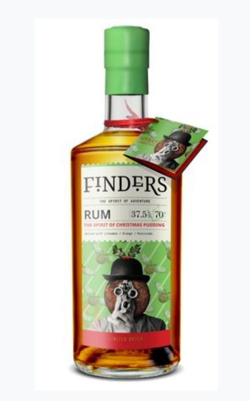 Finders Christmas Pudding Flavoured Rum